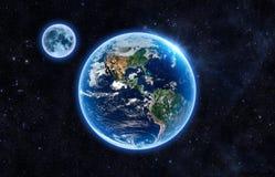 slät yttersida för abstrakt planet för jordjordningsbild Arkivbilder