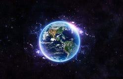slät yttersida för abstrakt planet för jordjordningsbild Arkivfoton