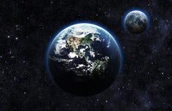 slät yttersida för abstrakt planet för jordjordningsbild Arkivbild