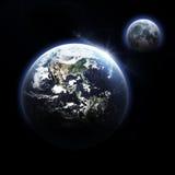 slät yttersida för abstrakt planet för jordjordningsbild Royaltyfria Foton