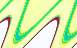 Släta beigea vågformer för abstrakt begrepp, abstrakt bakgrund för kontrast Royaltyfri Bild