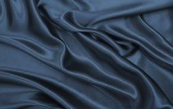 Släta elegant mörk grå silke- eller satängtextur som abstrakt backg Arkivfoto
