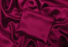 Släta elegant rosa lyxig torkduketextur för silke eller för satäng som abstra Royaltyfri Foto