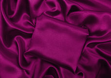 Släta elegant rosa lyxig torkduketextur för silke eller för satäng som abstra Royaltyfri Fotografi