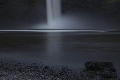 släta falls Royaltyfria Bilder