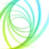 Släta linjer abstrakt bakgrund för ljusa vågor Royaltyfri Foto