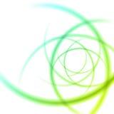 Släta linjer abstrakt bakgrund för ljusa vågor Arkivfoto