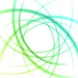 Släta linjer abstrakt bakgrund för ljusa vågor Royaltyfria Bilder