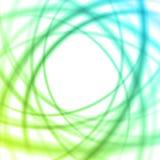 Släta linjer abstrakt bakgrund för ljusa vågor Royaltyfri Fotografi