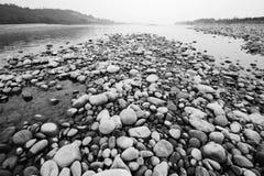 släta stenar Arkivbild
