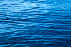 Släta vattenvågor Arkivbild