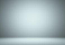 Slätt ljus - blått studiobrunnbruk som bakgrund, affärsrapport