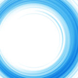 Slätt ljus - blått vinkar linjer abstrakt begreppbakgrund Arkivbild