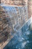 Slå samman vattenfallet Arkivbild
