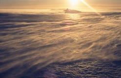 slående glaciärsnow Fotografering för Bildbyråer