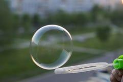 slående pojkebubblor Arkivfoton