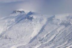 slående snowwind Royaltyfria Bilder