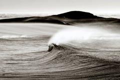 slågen wavewind Arkivbilder