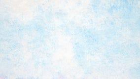 Slösa designen för vattenfärgen för konst den abstrakt texturerade målning på vit Arkivbild