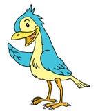 Slösa fågeln Royaltyfria Bilder