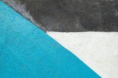 Slösa, grå färger och vit texturerad yttersida av asfalt för abstrakt bakgrund Royaltyfri Fotografi