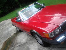 1985 380sl Foto de Stock Royalty Free