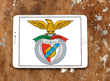 SL Benfica soccer club logo Royalty Free Stock Photography