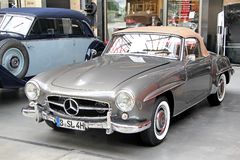 190sl benz Mercedes Στοκ εικόνες με δικαίωμα ελεύθερης χρήσης