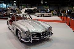 300SL Feier Mailand Autoclassica 2014 Stockbild
