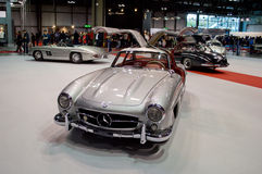 300SL Feier Mailand Autoclassica 2014 Stockfoto