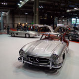 300SL Feier Mailand Autoclassica 2014 Lizenzfreie Stockfotografie