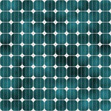 Sl greenish solar cells. Solar cells background in green tones, tiles seamlessly Stock Images