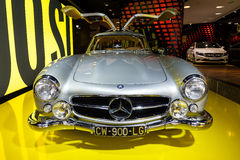 SL300 Gullwing Mercedes Royalty Free Stock Photo