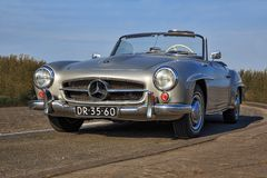 300 SL Mercedes Arkivbilder