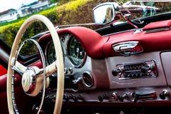 190SL Oldtimer Interieur Стоковые Изображения RF