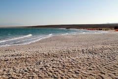 Sól w nieżywym morzu Obraz Royalty Free