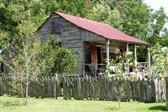Slaaf Cabin royalty-vrije stock afbeeldingen