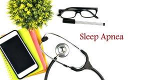 SLAAP APNEA Stock Afbeelding