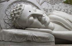 Slaap Boedha stock afbeeldingen