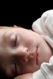 Slaap jonge jongen Royalty-vrije Stock Afbeelding