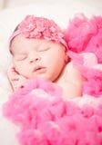 Slaap pasgeboren baby Royalty-vrije Stock Foto