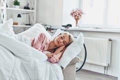 In slaap schoonheid stock fotografie