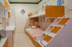 Slaapkamer 04 van kinderen Royalty-vrije Stock Afbeeldingen