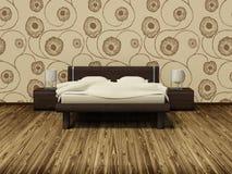 Slaapkamer Royalty-vrije Illustratie