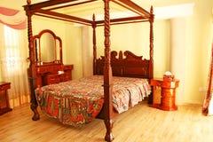 Slaapkamer stock foto