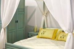 Slaapkamer Royalty-vrije Stock Afbeeldingen