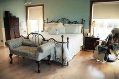Slaapkamer Royalty-vrije Stock Fotografie