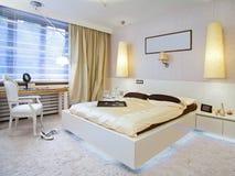 Slaapkamer Royalty-vrije Stock Afbeelding