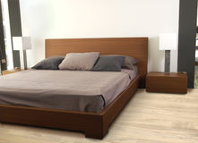 Slaapkamer Stock Afbeelding