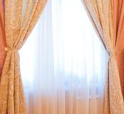 Slaapkamer, binnenland, meubilair Royalty-vrije Stock Afbeeldingen